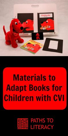 Recommendations of materials to adapt and create books for children with cortical visual impairment (CVI) Visually Impaired Activities, Tactile Activities, Classroom Activities, Book Activities, Classroom Ideas, Emergent Literacy, Visual Impairment, Vision Therapy, Preschool Special Education