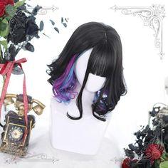 Kawaii Hairstyles, Pretty Hairstyles, Wig Hairstyles, Cosplay Hair, Cosplay Wigs, Kawaii Wigs, Lolita Hair, Hair Reference, Short Wigs