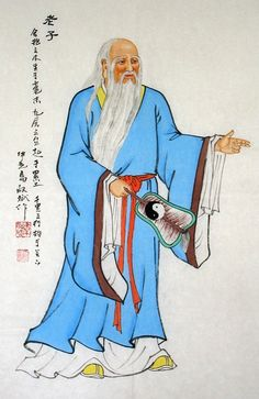 Laozi Figure Abstract art Chinese Ink Brush Painting, 68x45cm Chinese wall scroll painting Freehand brush work Artist original works of handwriting Rice paper Traditional art painting. USD $ 46.00