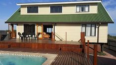 Kleinkrantz Holiday House - A sea facing double-storey self-catering holiday home, situated close to the beach in Kleinkrantz, Wilderness. Great for friends and family, also pet-friendly!Kleinkrantz Holiday House is a well-appointed ... #weekendgetaways #wilderness #gardenroute #southafrica #travel #selfcatering