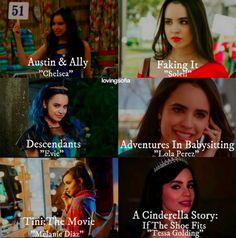 Sofia Carson's Roles