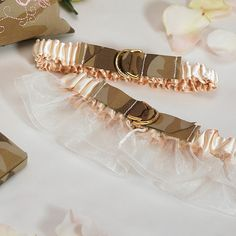 Camouflage Bridal Garter Set $21.20; military wedding; military bride; camo wedding garter