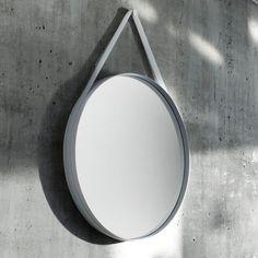 Strap Mirror Spiegel | HAY | Spiegel | Bad | AmbienteDirect.com