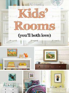 decorating ideas for kids bedrooms, kids room decor https://www.pinterest.com/schulmanart/kids-room-ideas/