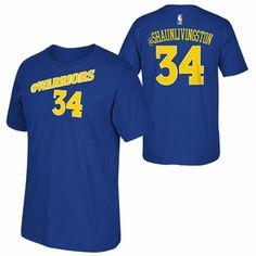 Golden State Warriors adidas 2015 Shaun Livingston Social Media Tee - Blue