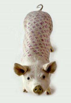 Piggy Vuitton