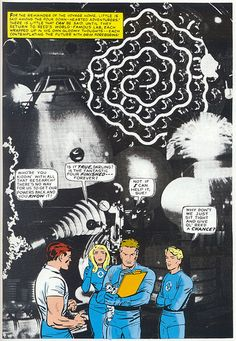 Fantastic Four 39 Kirby collage 1965