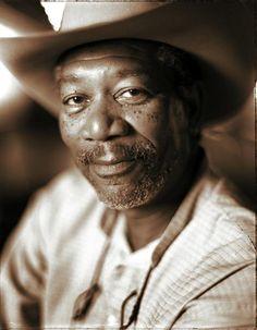 Morgan Freeman by Robert Maxwell