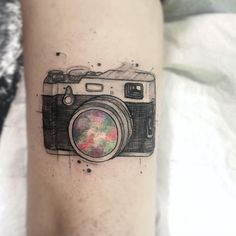 Sketch style camera by Felipe Mello
