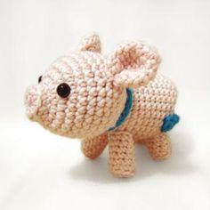 Porkie the Piggy amigurumi pattern by Sweet N' Cute Creations