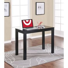 Ameriwood Industries Parsons Desk - Black