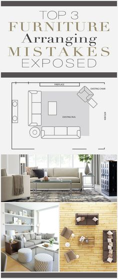 Top 3 Furniture Arranging Mistakes Exposed! U2022 Learn How To Easily Fix  Mistakes When Arranging