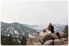 Colorado Elopement Photographer - Boulder, Colorado - Flagstaff Mountain. Winter Elopement in Colorado.   http://www.raynamcginnisphotography.com/colorado-winter-elopement-brandi-justin/