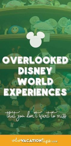 Often Disregarded Disney Experiences OMG! I am going to need to add some of these on my itinery for my next Disney Vacation. Often Disregarded Disney Experiences OMG! I am going to need to add some of these on my itinery for my next Disney Vacation. Disney World Resorts, Disney World 2017, Disney Vacations, Disney Honeymoon, Disney Worlds, Family Vacations, Family Travel, Dream Vacations, Disney World Tips And Tricks
