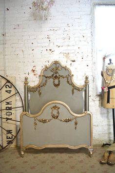 Painted Cottage La Petite Marie Antoinette Romantic Deluxe French Bed