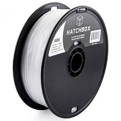 HATCHBOX 1.75 MM 1KG Transparent White ABS 3D Printer Filament