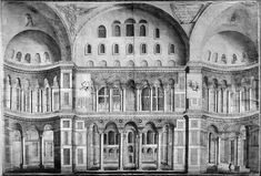 South side of Hagia Sophia Nave