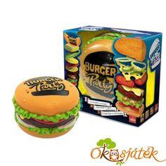 """Burger Party partijáték, zsúrjáték - RE """"utolsó darabok"""""""