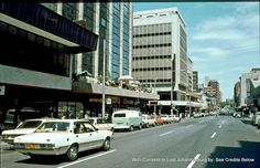 Travelling west down Kotze Street Hilllbrow mid Johannesburg City, Third World Countries, Back In The Day, First World, South Africa, Old Things, Street View, Scene, Places