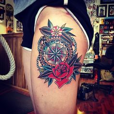 Direction | Tatspiration.com - Your home for discovering tattoo ideas and tattoo inspiration.