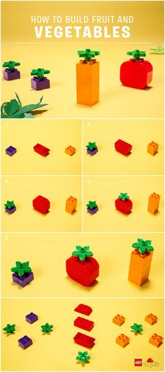 Here is a fun way to introduce your little one to fruits and vegetables - why not build some together and then try the real thing afterwards? http://www.lego.com/da-dk/family/articles/fun-food-play-for-fussy-eaters-478882a8e19f4d4da9637d261d924878