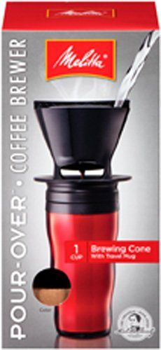 Melitta Coffee Maker, Single Cup Pour-Over Brewer with Travel Mug, Red (Pack of 2) Melitta http://www.amazon.com/dp/B0049D3UF6/ref=cm_sw_r_pi_dp_kvrcub14ZY1MT