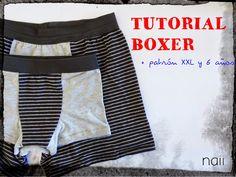 Boxer Tutorial + Pattern - Naii Diary