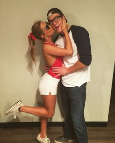 Wendy Peffercorn and Squints Couples Halloween costume