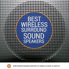 Best Wireless Surround Sound Speakers: Ready to Blow Up Your Home Theater Experience? Wireless Surround Sound, Sonos, Wireless Speakers, Theater, Technology, Tech, Teatro, Theatre, Theatres