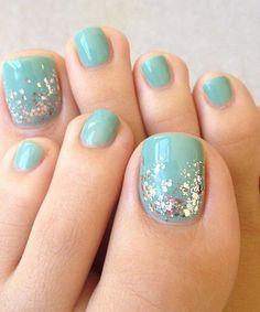 sky blue nail designs - Buscar con Google
