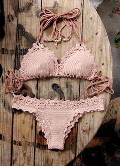2 PDF Crochet PATTERNS Lorelei Bikini Pattern by CapitanaUncino