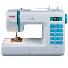 "Janome DC2013 Computerized Sewing Machine with 50 Built-In Stitches w/ Hard Case + Walking Foot + 1/4"" Foot and More! Replaces the Janome DC2012 Janome,http://www.amazon.com/dp/B00B0FDITE/ref=cm_sw_r_pi_dp_YPd9sb1FNPDSKVJ1"
