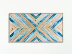 Beach Reclaimed Wood Wall Art - Coastal Art - Beach Decor - Reclaimed Wall Art - Wooden Wall Art - Geometric Wall Art by EthosWoodworks on Etsy https://www.etsy.com/listing/487437573/beach-reclaimed-wood-wall-art-coastal