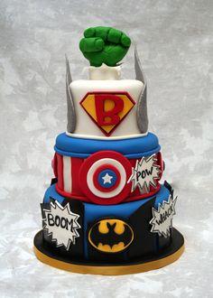 Superhero  on Cake Central