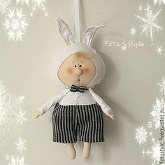 Купить Буду Зайчиком Елочная игрушка из серии Елка в детском саду - новый год 2016