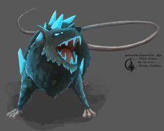 #gem #rat #conceptart #painting #elysianShadows #gamedev