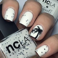 Any excuse for a . Polishes are @shopncla  Hey, Sailor and @karengnails  @shopncla Collab shade White Deco.