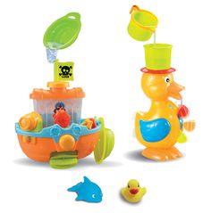 Le coffret 3 Activités aquatiques LUDI Le bain devient un moment de jeu et d'éveil à vivre et à partager !