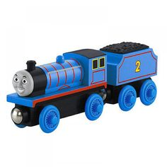 Trenino Thomas & Friends - Locomotiva in legno - Edward - Y4071 | lalberoazzurro.net