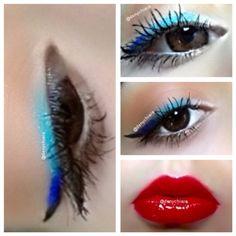 Multiblue Color Eyeliner ♡| Beauty By Denise #makeup #makeuptutorials #tutorials #trucco #beauty #bellezza #eyeliner #eyelinerbianco #eyelinerazzurro #eyelinerblu #eyelinernero #whiteyeliner #blueyeliner #lightblueyeliner #blackeyeliner #occhi #eyes #lipstick #rossetto #liptint #tintalabbra #rossettorosso #redlipstick #redliptint #tintalabbrarossa #contouring #ciglialunghe #ciglialunghevere #kiko #cosmetici #kikocosmetics #essence