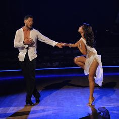 Val & Janel Parrish with yet another beautiful performance - Dancing With the Stars - Season 19 - week 4 Most Memorable Year - Fall 2014