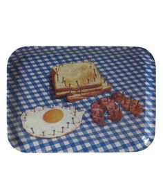 Seletti - TOILETPAPER Tray, Breakfast