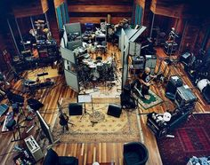 Big room. Recording studio.