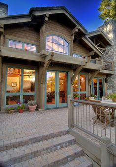 From Earthwood Timber Frame Homes of Oregon #timberframe