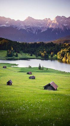 Karwendel Mountains (Bavaria), Germany