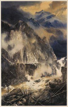 Los Hijos de Húrin de Tolkien - por Alan Lee