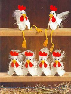 Пасха — один из тех чудесных праздников, когда в доме царит атмосфера радости, добра, любви... С особым вдохновением мы печём ароматные куличи, пироги, красим яички, украшаем наш дом. Придать атмосферу праздника и уюта помогут поделки из ... яичных лотков! Это совсем несложно, они всегда под рукой. Достаточно проявить свою фантазию, и получится красота :) Кстати, идеи настолько просты, что в создании пасхального декора могут участвовать и дети.