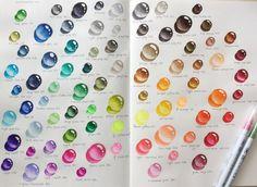 Цветовая гамма крутых акварельных маркеров<br>Zig Clean Color Real Brush<br>http://artmarker.ru/catalog/markery-zig-clean-color-real-brush-akvarelnye/<br>80 цветов, перо ворсистая кисточка