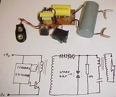 Homemade Circuit Projects DIY Taser Gun Circuit Energy