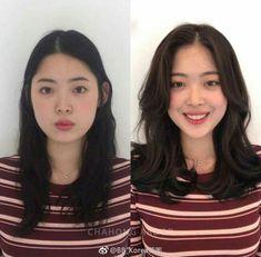 Medium Asian Hair, Asian Short Hair, Medium Hair Cuts, Medium Hair Styles, Curly Hair Styles, Haircuts Straight Hair, Oval Face Haircuts, Ulzzang Hair, Asian Haircut